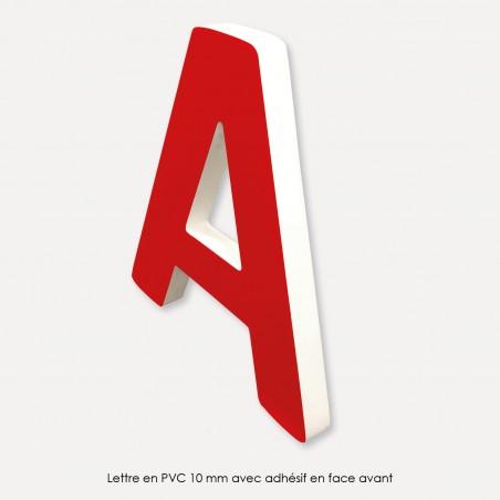 Lettres en reliefs - PVC