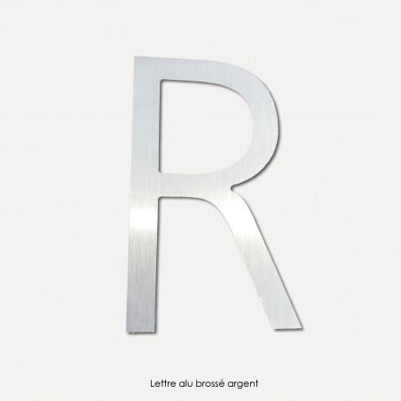 Lettres en aluminium composite 3mm